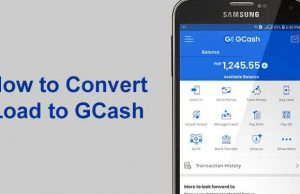 converting load to gcash