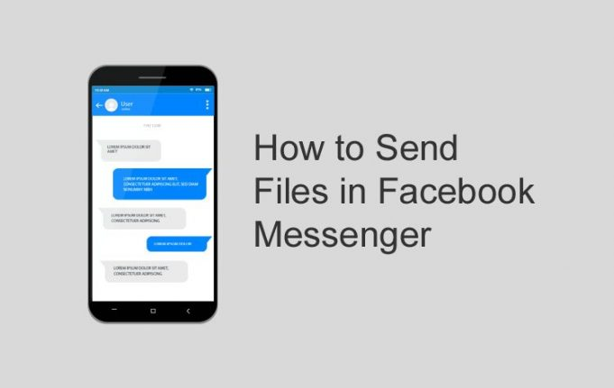 how to send file in messenger