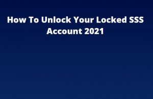 sss account locked