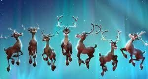 12 reindeers name