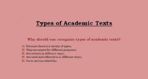 academic text example