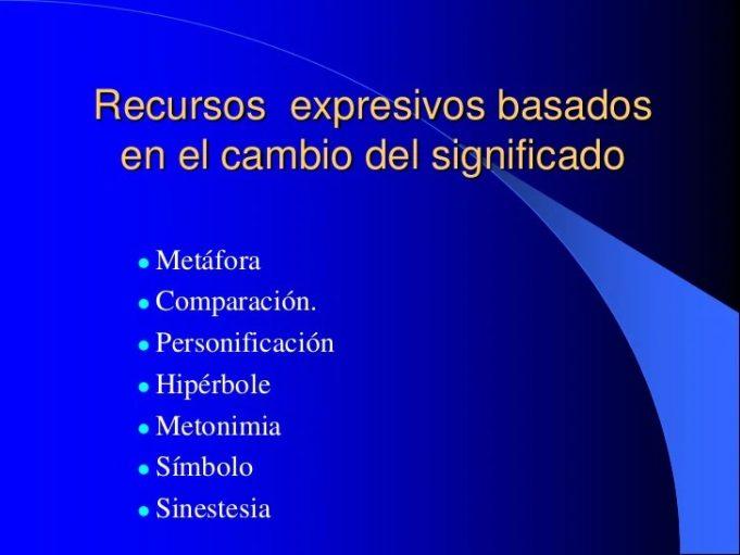 recursos expresivos
