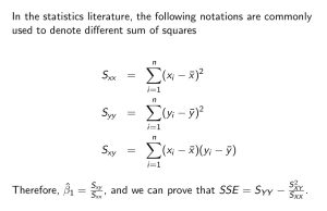 What Is The Formula For Ssxx